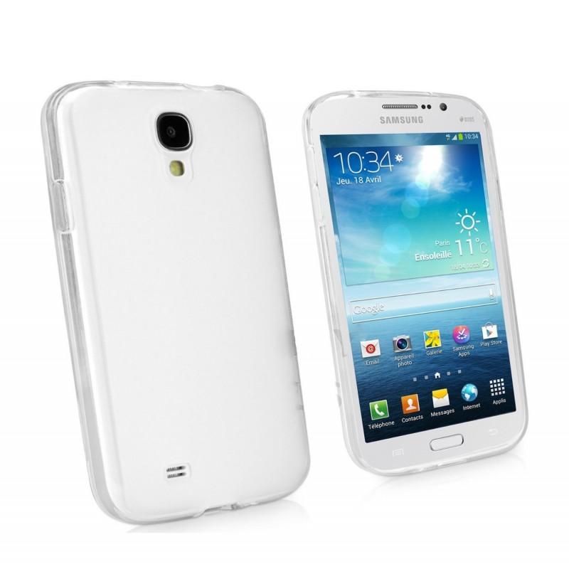 Coque rigide transparente pour Samsung Galaxy Mega 6.3