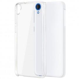 Coque rigide transparente pour HTC Desire 820