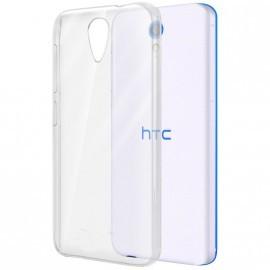 Coque rigide transparente pour HTC Desire 620