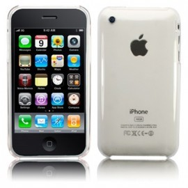 Coque rigide transparente pour iPhone 3G/3GS