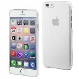 Coque rigide transparente pour iPhone 6
