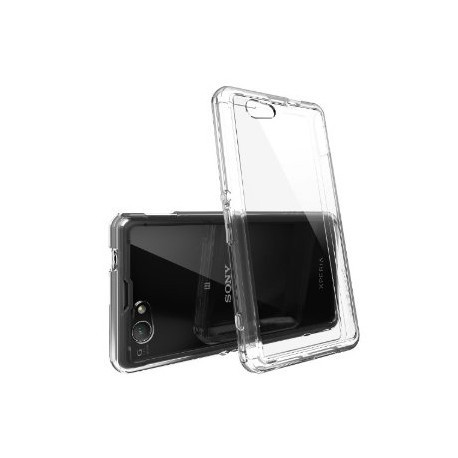 coque rigide transparente pour sony xperia z1 compact. Black Bedroom Furniture Sets. Home Design Ideas