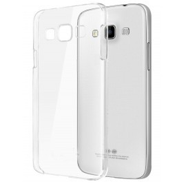 Coque rigide transparente pour Samsung Galaxy S6 Edge