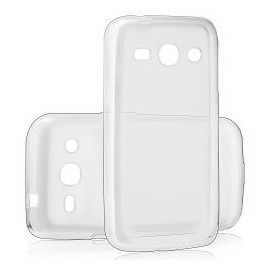 Coque rigide transparente pour Samsung Galaxy Core Plus