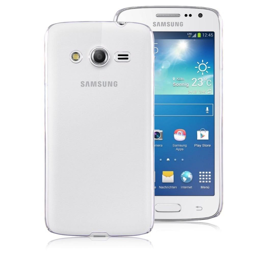 Coque rigide transparente pour Samsung Galaxy Core 4G