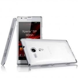 Coque rigide transparente pour Sony Xperia SP