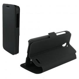 Etui portefeuille noir pour LG G3