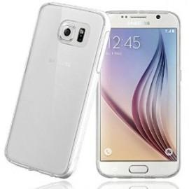 Coque silicone souple transparente pour Samsung Galaxy S6