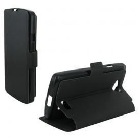 Etui portefeuille Noir pour LG F60