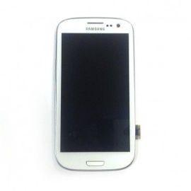 Bloc complet écran LCD + vitre tactile pour Samsung Galaxy S3 blanc