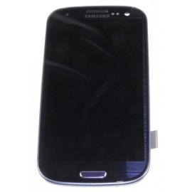 Bloc complet écran LCD + vitre tactile pour Samsung Galaxy S3 bleu nuit