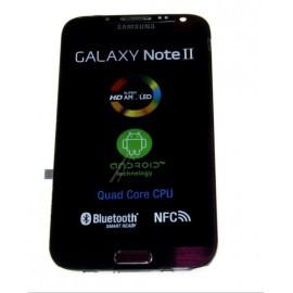 Bloc complet écran LCD + vitre tactile pour Samsung Galaxy Note 2 Noir