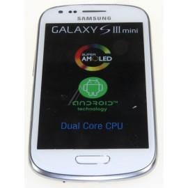 Bloc complet écran LCD + vitre tactile pour Samsung Galaxy S3 Mini Blanc