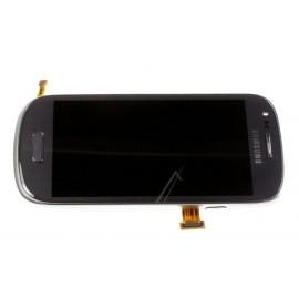 Bloc complet écran LCD + vitre tactile pour Samsung Galaxy S3 Mini Gris