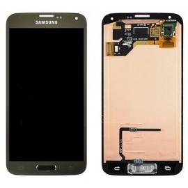 Bloc complet écran LCD + vitre tactile pour Samsung Galaxy S5 Or