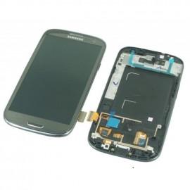Bloc complet écran LCD + vitre tactile pour Samsung Galaxy S3 LTE(I9305) gris