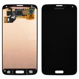 Bloc complet écran LCD + vitre tactile pour Samsung Galaxy S5 noir