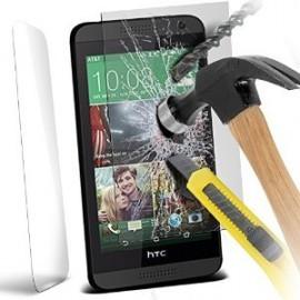 Protection ecran en verre trempe pour HTC Desire 610
