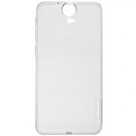 Coque rigide transparente pour HTC Desire E9+