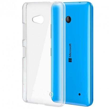 Coque rigide transparente pour Nokia Lumia 640