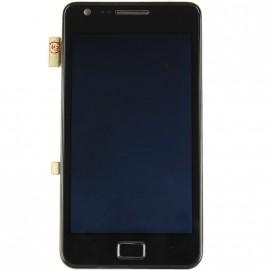 Bloc complet écran LCD + vitre tactile pour Samsung Galaxy S2