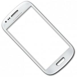 Bloc complet écran LCD + vitre tactile pour Samsung Galaxy S4 Mini blanc