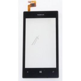 Vitre tactile pour Microsoft Lumia 520 (Nokia) pour réparation écran