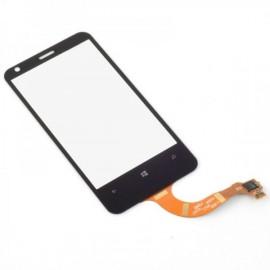Vitre tactile LCD pour Microsoft Lumia 620 (Nokia) pour réparation écran
