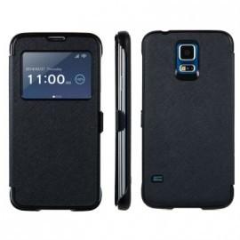 Etui portefeuille Noir pour Samsung Galaxy S5
