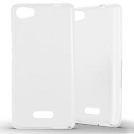 Coque silicone minigel transparente pour Wiko Fever