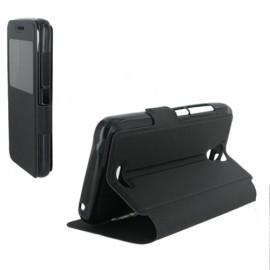 Etui portefeuille Noir pour Huawei Y360