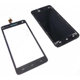 Ecran complet Wiko Rainbow Jam 4G Noir : LCD + vitre tactile