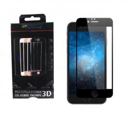 Protection verre trempé complète rouge iPhone 7