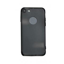 Coque silicone gel noire pour iPhone 7