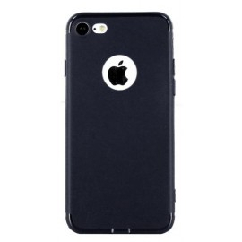 Coque silicone gel bleue nuit pour iPhone 7