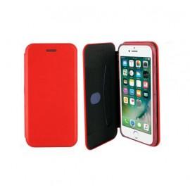 Etui housse portefeuille rouge pour iPhone 7 Plus