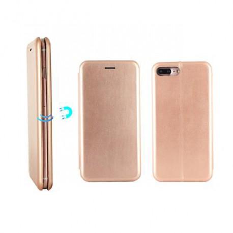 Etui portefeuille iPhone 7 rose doré