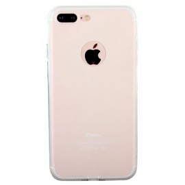 Coque silicone gel transparent pour iPhone 7 Plus