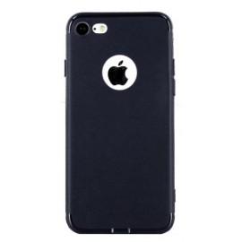 Coque silicone gel bleue nuit pour iPhone 7 Plus