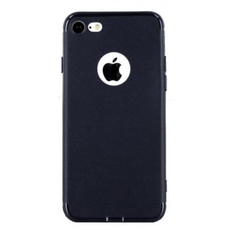 Coque silicone gel bleue nuit pour iPhone 7