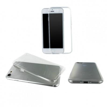 Coque silicone gel transparent pour iPhone 8