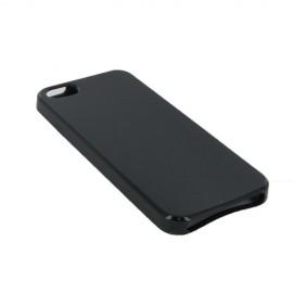 Coque silicone gel noire pour iPhone SE