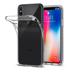Coque silicone gel transparente pour iPhone X