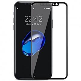 Protection verre trempé complète iPhone X