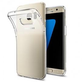 Coque silicone gel noire pour Samsung Galaxy S7 Edge