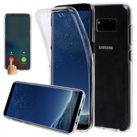 Protection complete Avant /Arriere avec fonction tactile pour Samsung Galaxy S7 Edge