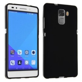 Coque silicone gel noire pour Huawei Honor 7