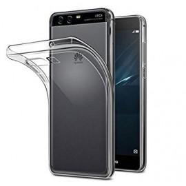 Coque silicone gel transparent pour Huawei P10