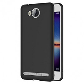 Coque silicone gel noire pour Huawei Honor Y3 II