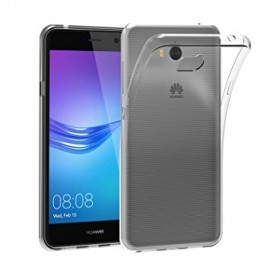 Coque silicone gel transparent pour Huawei Y5 2017